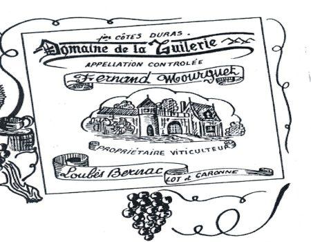 premiére étiquette du domaine de la tuilerie la breille